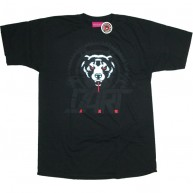 Mishka 'D.A.R.T. Big Logo' T-Shirt -Black-