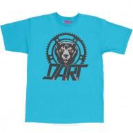 Mishka 'D.A.R.T. Big Logo' T-Shirt -Turquoise-