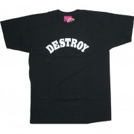 Mishka 'Destroy' T-Shirt -Black-