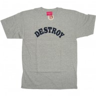 Mishka 'Destroy' T-Shirt -Grey-