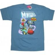 Mishka 'Extra Terrest' T-Shirt-Blue-