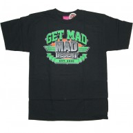 Mishka 'Get MAD' T-Shirt -Black-