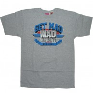 Mishka 'Get MAD' T-Shirt -Grey-