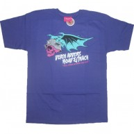 Mishka 'Hell Rides In' T-Shirt-Purple-