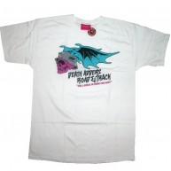 Mishka 'Hell Rides In' T-Shirt-White-