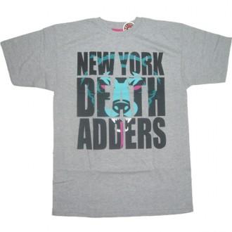 Mishka 'High Impact' T-Shirt-Grey-