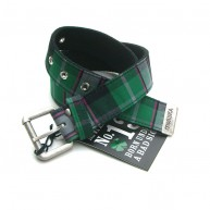 Mishka 'Hudson Plaid' Belt-Green-