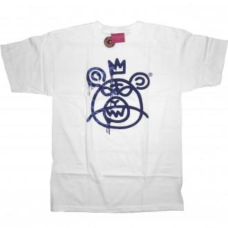 Mishka 'Leopard MOP' T-Shirt -White-