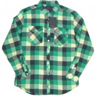 Mishka 'Loveless' Flannel Shirt-Green-