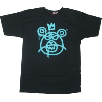 Mishka 'Bear MOP 11' T-Shirt -Black/Blu-