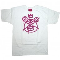 Mishka 'Bear MOP 11' T-Shirt -White/Purp-