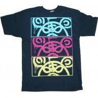 Mishka 'MOP Stack' T-Shirt -Navy-