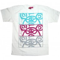 Mishka 'MOP Stack' T-Shirt -White-