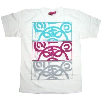 Mishka 'MOP Stack' T-Shirt -White-
