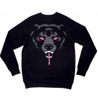 Mishka 'Oversize Death Adder F11' Sweatshirt -Black-