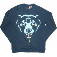 Mishka 'Oversize Death Adder F11' Sweatshirt -Navy-
