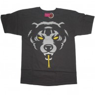 Mishka 'Oversized DA 12' T-Shirt -Charcoal-