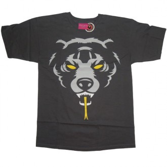 Mishka 'Oversized DA 12' T-Shirt -Charcoal-