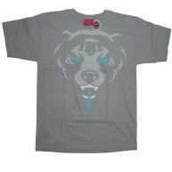 Mishka 'Oversize Death Adder F11' T-Shirt -Grey-