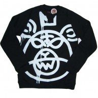 Mishka 'Oversized MOP w11' Sweat Shirt -Black-