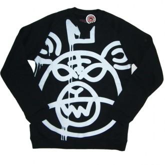 Mishka 'Oversized MOP w11' Sweat Shirt -Black-