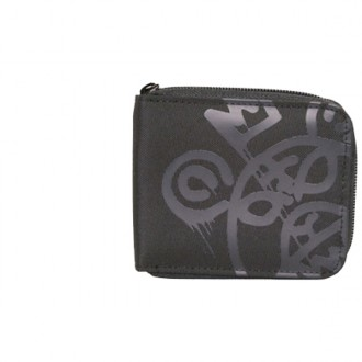 Mishka 'O MOP' Nylon Wallet -Black-