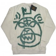 Mishka 'Oversized MOP' Sweat -Bone-