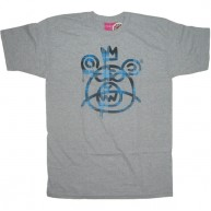 Mishka 'Plaid MOP' T-Shirt-Grey-