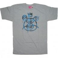 Mishka 'Plaid MOP' T-Shirt-Grey-