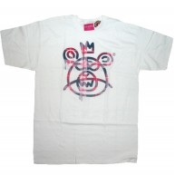 Mishka 'Plaid MOP' T-Shirt-White-