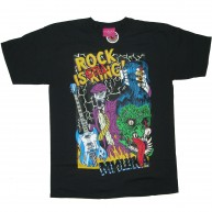 Mishka 'Rock Is Still King' T-Shirt -Black-
