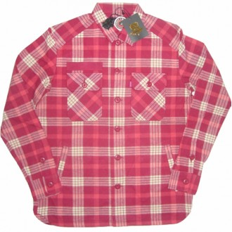 Mishka 'Satanic Majesties' Outer Shirt-Red-