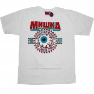 Mishka 'Keep Watch Crest 11' T-Shirt -White-