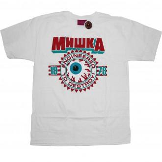 Mishka 'Keep Watch Crest 11' T-Shirt -White-