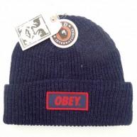 Obey 'Sandard Issue' Beanie -Navy-