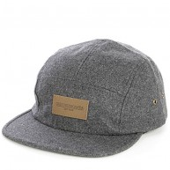 Obey 'Auxilary 5 Panel' Cap -Charcoal-