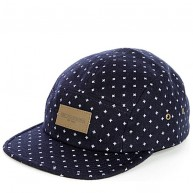 Obey 'Auxilary 5 Panel' Cap -Navy-