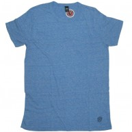Obey 'Blank' TriBlend Tee -Blue-