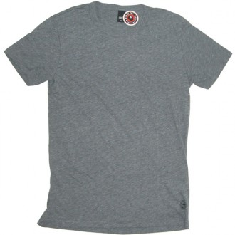 Obey 'Blank' TriBlend Tee -Grey-