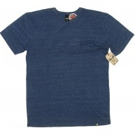 Obey 'Blank' TriBlend Tee -Navy-