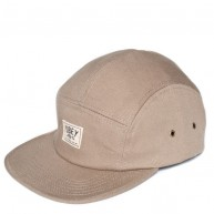 Obey 'Boiler Plate 5 Panel' Cap -Army-