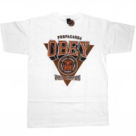Obey 'World Chapions' T-Shirt -White-