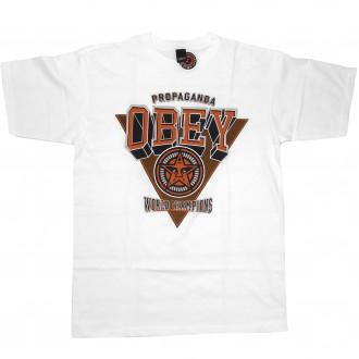 Obey 'World Chapions' T-Shirt -White-
