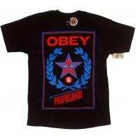 Obey 'Classic Cress' T-Shirt -Black-