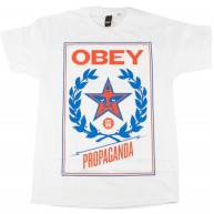 Obey 'Classic Cress' T-Shirt -White-