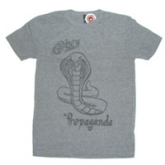 Obey 'Cobra Propaganda' Tr- Blend Tee -Grey-