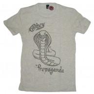 Obey 'Cobra Propaganda' Tr- Blend Tee -H. Ivory-