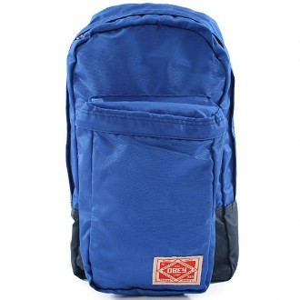 Obey 'Commuter' Back Pack -Blue-