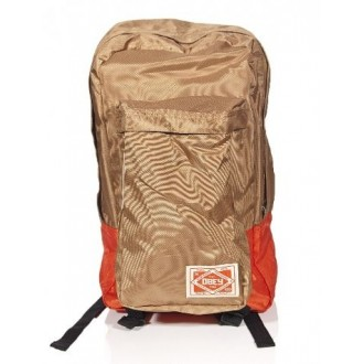 Obey 'Commuter' Back Pack -Tan-