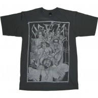 Obey 'Ghetto' Tee -Charcoal-